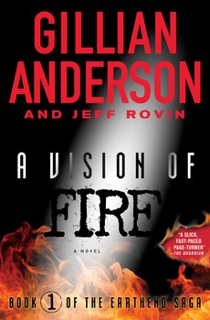 A Vision on Fire-edited by Gillian Anderson, Jeff Rovin cover