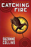 Catching Fire-by Suzanne Collins cover
