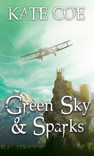Green Sky & Sparks-by Kate Coe cover