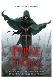 Prince of Thorns-by Mark Lawrence cover pic