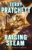 Raising Steam-by Terry Pratchett cover pic