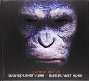 Rise of the Planet of the Apes and Dawn of Planet of the Apes: The Art of the Films-by Matt Hurwitz cover