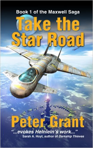 Take the Star Road-by Peter Grant cover
