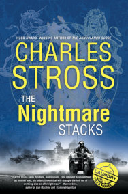 The Nightmare Stacks-by Charles Stross cover