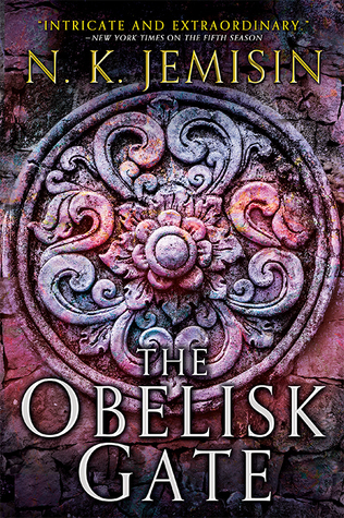 The Obelisk Gate-by N.K. Jemisin cover