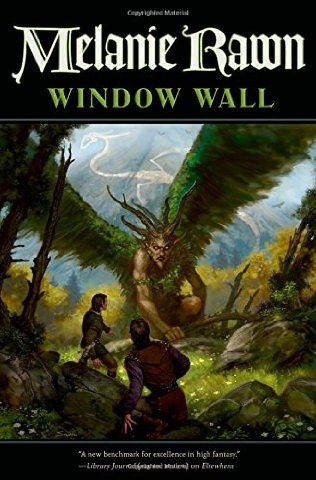 Window Wall , Book 4 of the Glass Thorns series-by Melanie Rawn cover