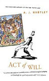 Act of Will-by A. J. Hartley cover pic