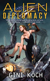 Alien Diplomacy-by Gini Koch cover