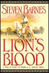 Lion's Blood-by Steven Barnes cover