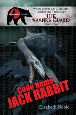 Code Name, Jack Rabbit-by Elizabeth Noble cover