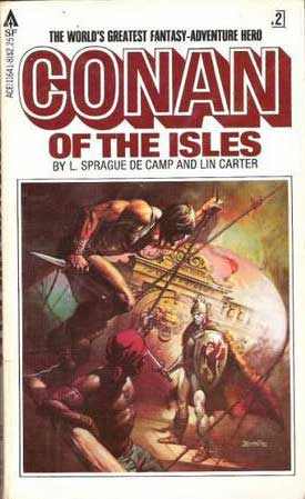 Conan of the Isles-by L. Sprague de Camp, Lin Carter cover
