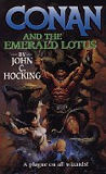 Conan and the Emerald Lotus-by John C. Hocking cover