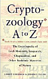 Cryptozoology A to Z-edited by Loren Coleman, Jerome Clark cover