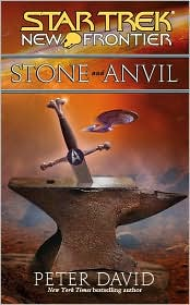 New Frontier: Stone and Anvil-edited by Peter David cover