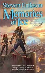 Memories of Ice-by Steven Erikson cover