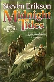 Midnight Tides-by Steven Erikson cover