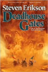 Deadhouse Gates-by Steven Erikson cover