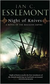 Night of Knives-by Ian C Esslemont cover