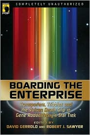Boarding the Enterprise-edited by David Gerrold, Robert Sawyer cover