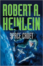 Space Cadet-by Robert Heinlein cover pic