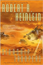 Starship Troopers-by Robert A. Heinlein cover