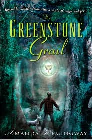 The Greenstone Grail-by Amanda Hemingway cover pic