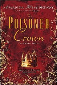 The Poisoned Crown-by Amanda Hemingway cover