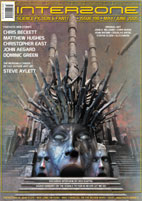 Interzone 198-edited by Andy Cox cover