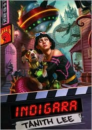 Indigara-by Tanith Lee cover pic