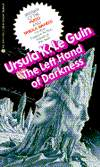 Left Hand of Darkness-by Ursula LeGuin cover