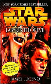 Labyrinth of Evil-by James Luceno cover
