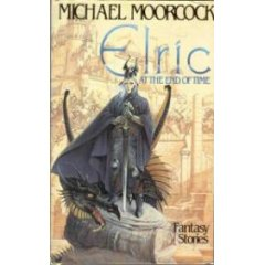Elric at the End of Time-by Michael Moorcock cover pic