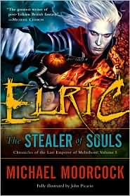 Elric: Stealer of Souls-by Michael Moorcock cover