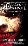 30 Days of Night: Immortal Remains-by Steve Niles, Steve Niles cover pic