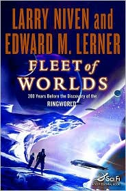Fleet of Worlds-by Larry Niven, Larry Niven cover pic