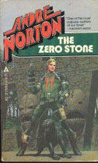 The Zero Stone-by Andre Norton cover
