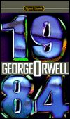 1984-edited by George Orwell cover
