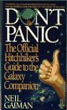 Don't Panic: The Official Hitchhikers Guide to the Galaxy Companion-by Neil Gaiman cover