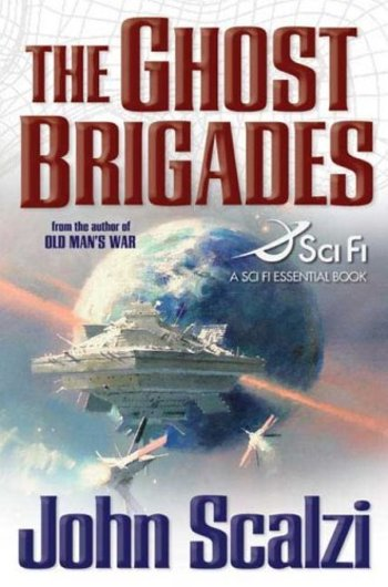 The Ghost Brigades-by John Scalzi cover pic