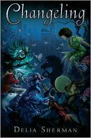 Changeling-by Delia Sherman cover pic