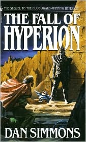 The Fall of Hyperion-by Dan Simmons cover
