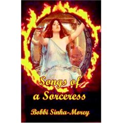 Songs of a Sorceress-by Bobbi Sinha-Morey cover pic
