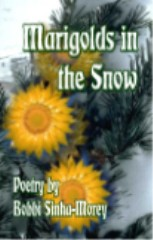 Marigolds In The Snow-by Bobbi Sinha-Morey cover pic