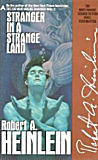 Stranger in a Strange Land-by Robert A. Heinlein cover