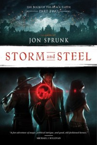 Storm and Steel-by Jon Sprunk cover