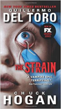 The Strain (Book 1 of The Strain)-by Guillermo del Toro, Chuck Hogan cover