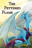 The Fettered Flame-by E.D.E. Bell cover