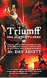 Triumff: Her Majesty's Hero-by Dan Abnett cover