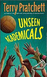 Unseen Academicals-by Terry Pratchett cover