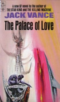 The Palace of Love-by Jack Vance cover
